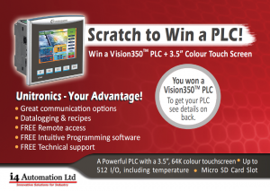 Win a free PLC & HMI