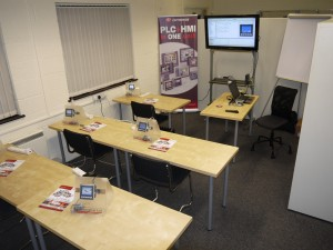 All ready for the training on Visilogic and Unitronics range of combination PLC and HMI's